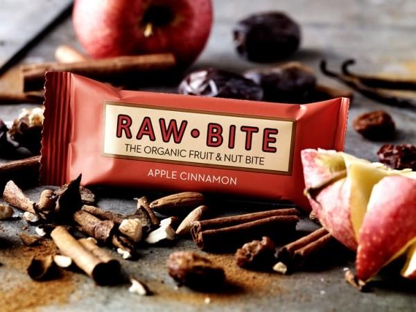 Rawbite Rohkostriegel Apfel Zimt, 50 g