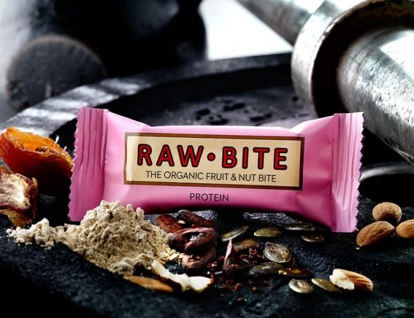 Rawbite Rohkostriegel Protein, 50 g